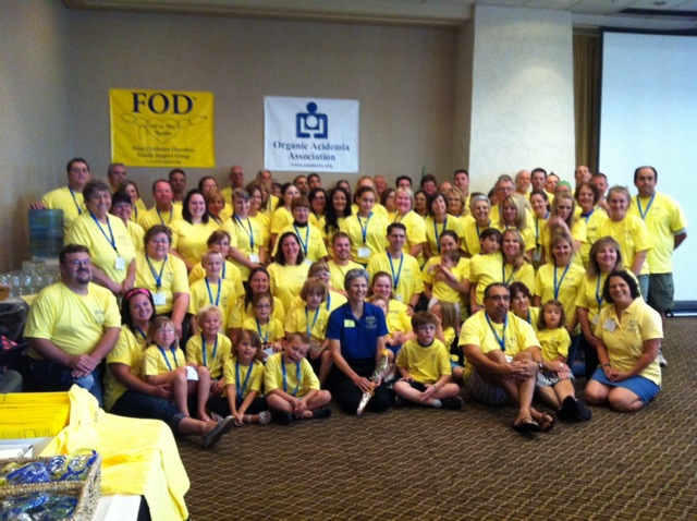 Attendees of the 2012 FOD/OAA conference