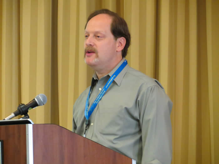 Mark Korson at the 2012 FOD/OAA conference