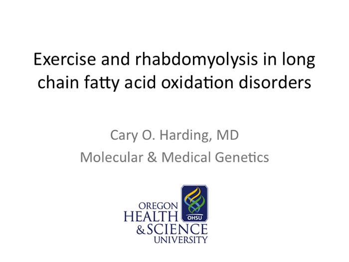 Slide from Cary Harding's presentation at the 2012 FOD/OAA conference