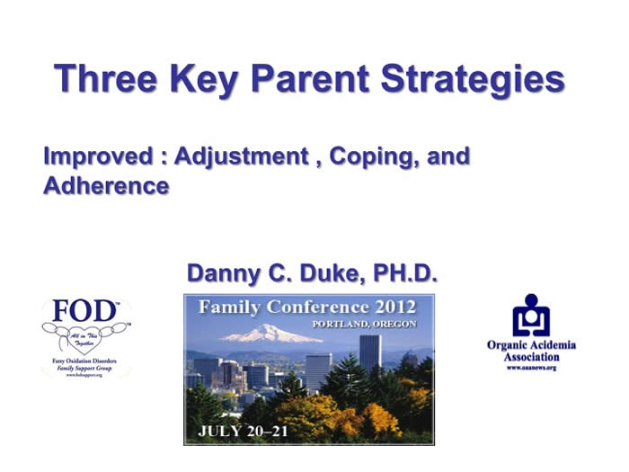 Slide from Danny Duke's presentation at the 2012 FOD/OAA conference