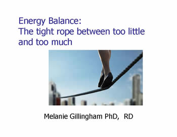 Slide from Melanie Gillingham's presentation at the 2012 FOD/OAA conference
