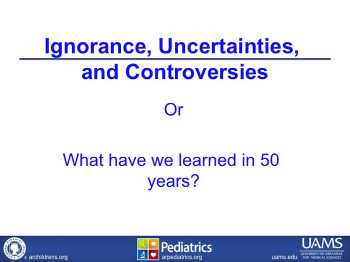 Slide from Stephan Kahler's presentation at the 2012 FOD/OAA conference