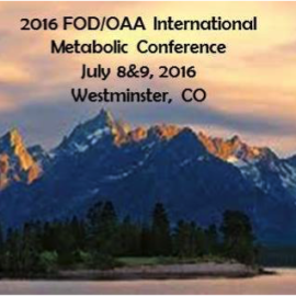 2016 FOD/OAA International Metabolic Conference