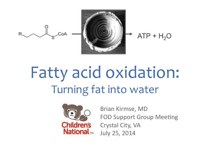 Slide from Brian Kirmse's presentation at the 2014 FOD/OAA conference
