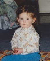 Anna Ruff as a child