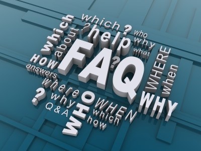 Abstract image representing a website's FAQ