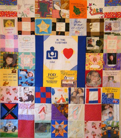 FOD and OAA quilt