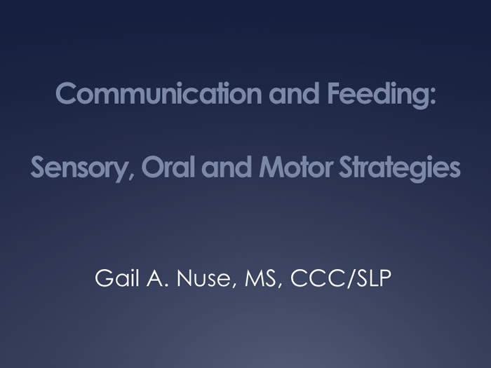 Slide from Gail Nuse's presentation at the 2010 FOD/OAA conference