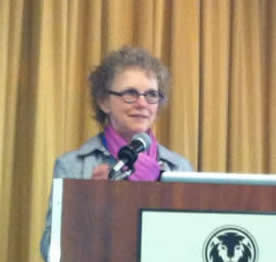 Kathleen Huntington at the 2012 FOD/OAA conference