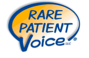 Logo for Rare Patient Voice, LLC