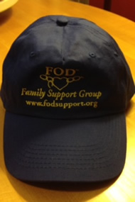 FOD Family Support Group awareness hat