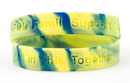 Youth-sized FOD awareness bracelet